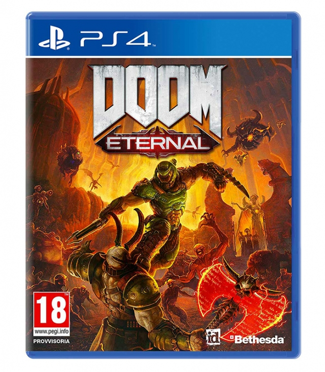 DOOM ETERNAL (Oferta DLC e Pins) PS4