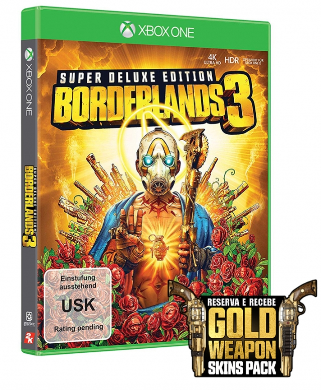 BORDERLANDS 3 Super Deluxe Edition (Oferta DLC) XBOX ONE