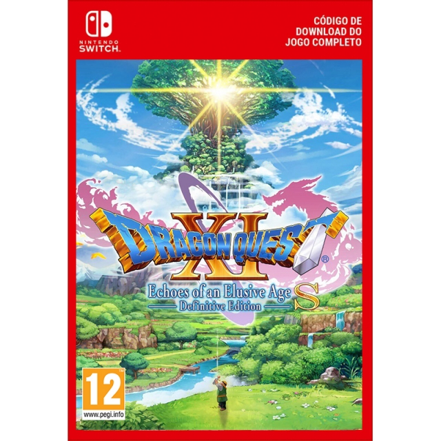 DRAGON QUEST XI ECHOES OF AN ELUSIVE AGE Definitive Edition (Nintendo Digital) Switch
