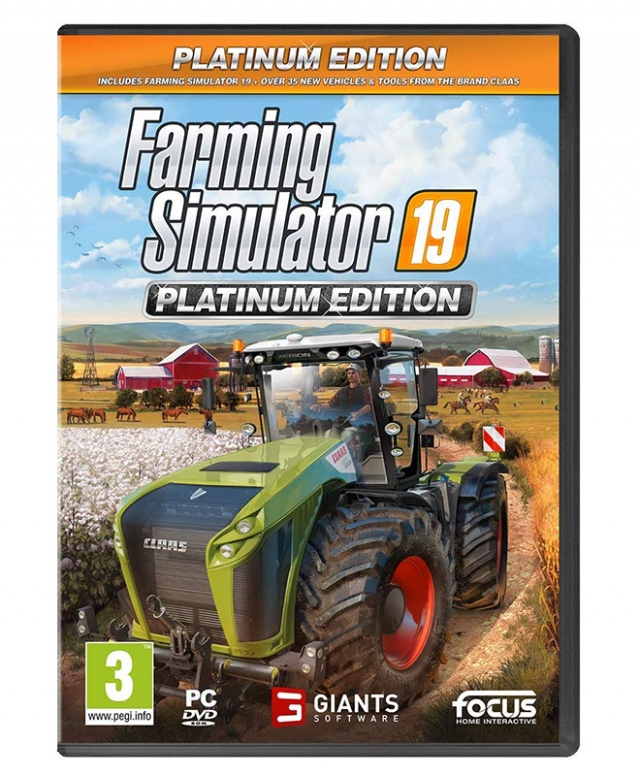 FARMING SIMULATOR 19 (EM PORTUGUÊS) Platinum Edition PC