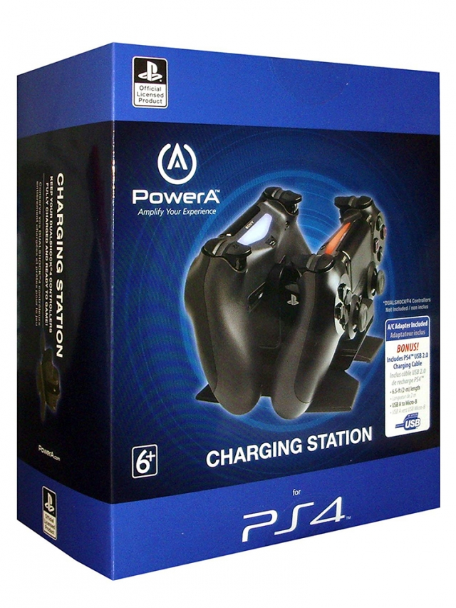 CHARGING STATION PS4