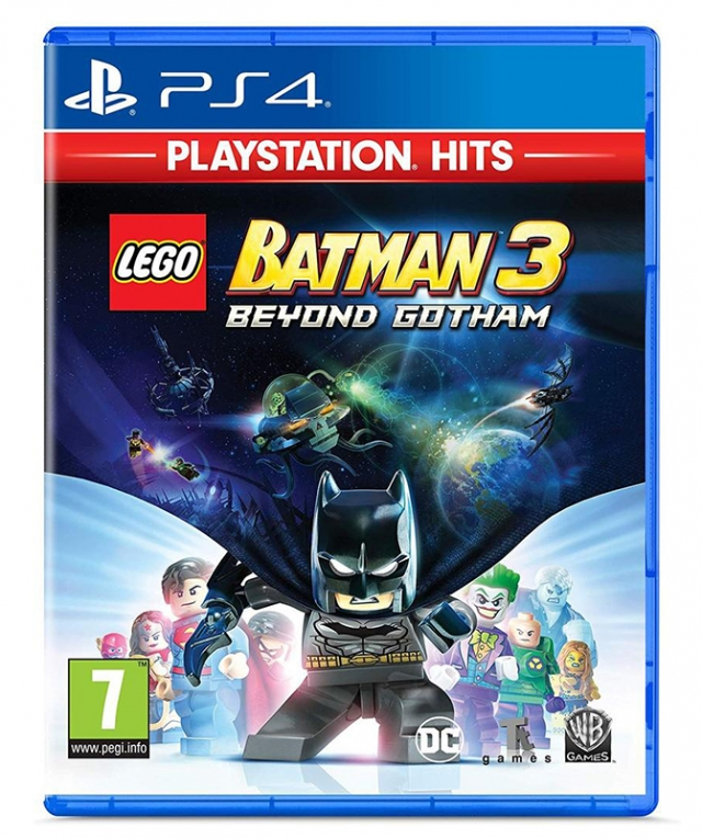 LEGO BATMAN 3 BEYOND BATMAN PS4