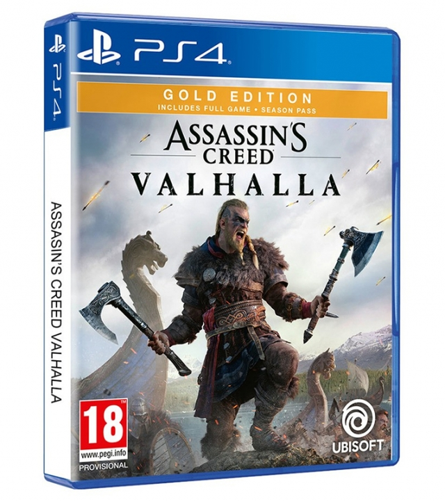 ASSASSINS CREED VALHALLA Gold Edition PS4