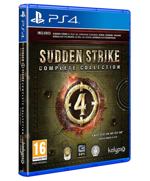 SUDDEN STRIKE 4 Complete Edition PS4