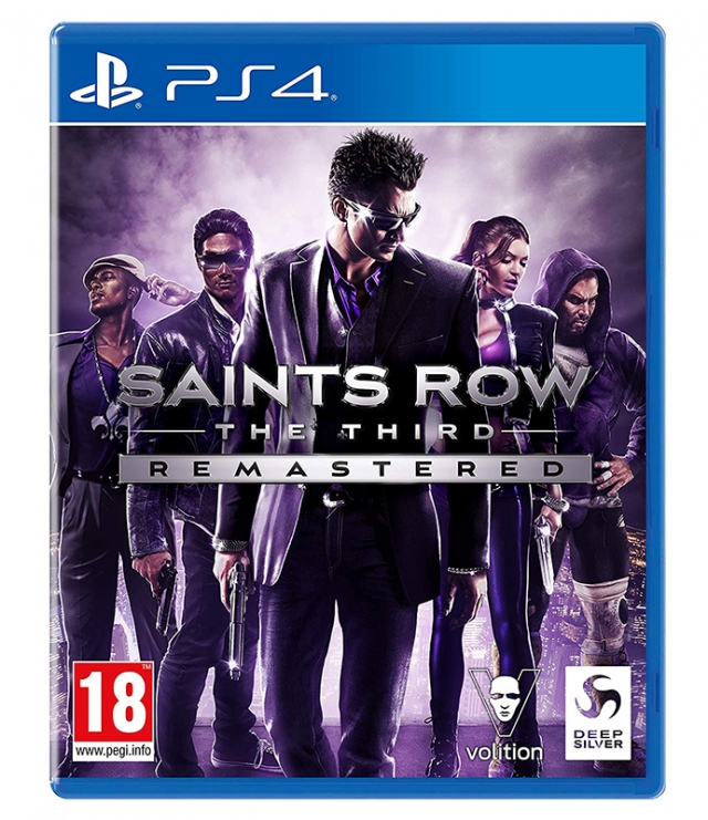 SAINTS ROW THE THIRD Remastered PS4