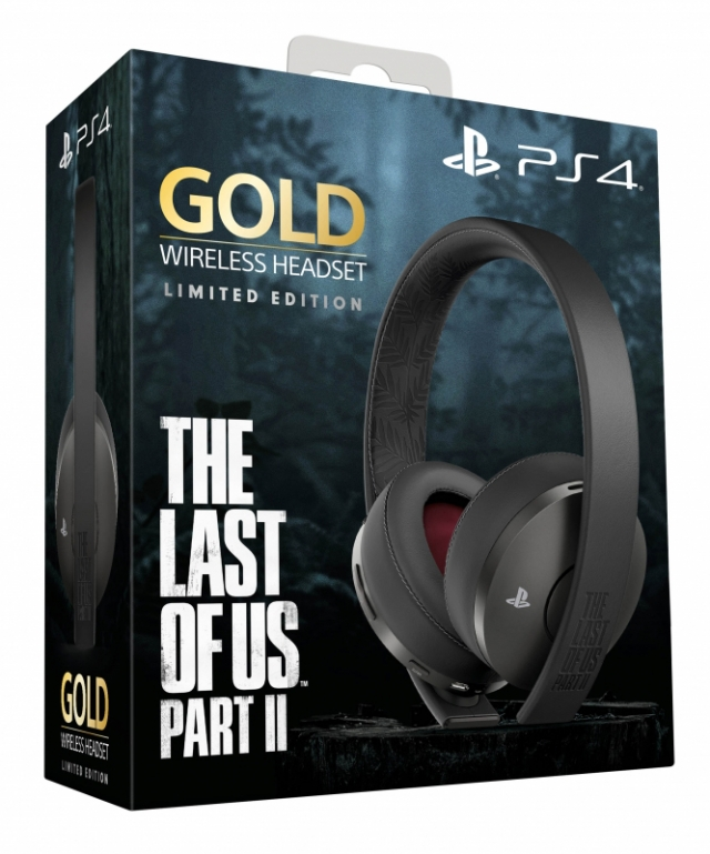 AUSCULTADORES GAMING SONY Wireless Gold Edição Limitada The Last of Us Part II PS4
