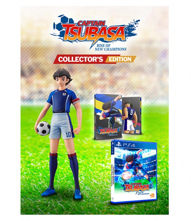 CAPTAIN TSUBASA Rise of New Champions Collectors Edition PS4