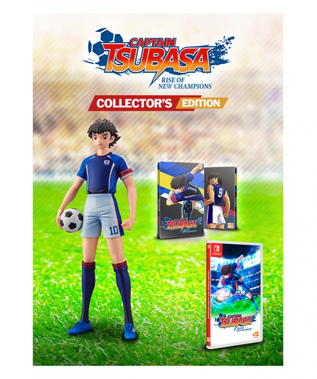 CAPTAIN TSUBASA Rise of New Champions Collectors Edition Switch