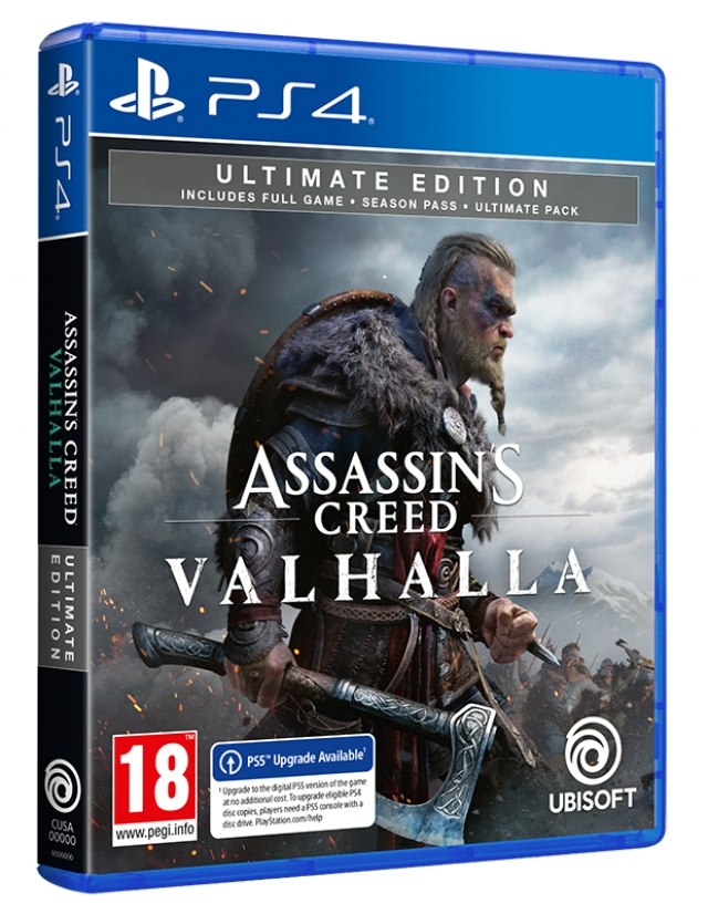 ASSASSINS CREED VALHALLA Ultimate Edition (EM PORTUGUÊS) PS4/PS5