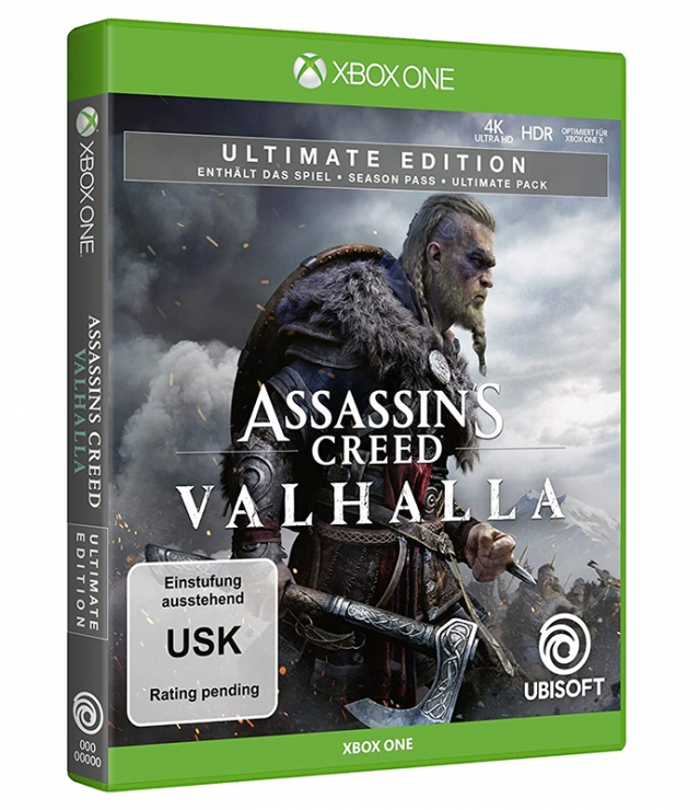 ASSASSINS CREED VALHALLA Ultimate Edition XBOX ONE