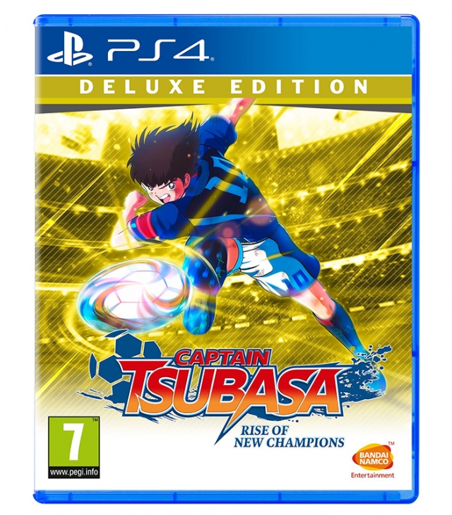 CAPTAIN TSUBASA Rise of New Champions Deluxe Edition (Oferta DLC e Pins) PS4