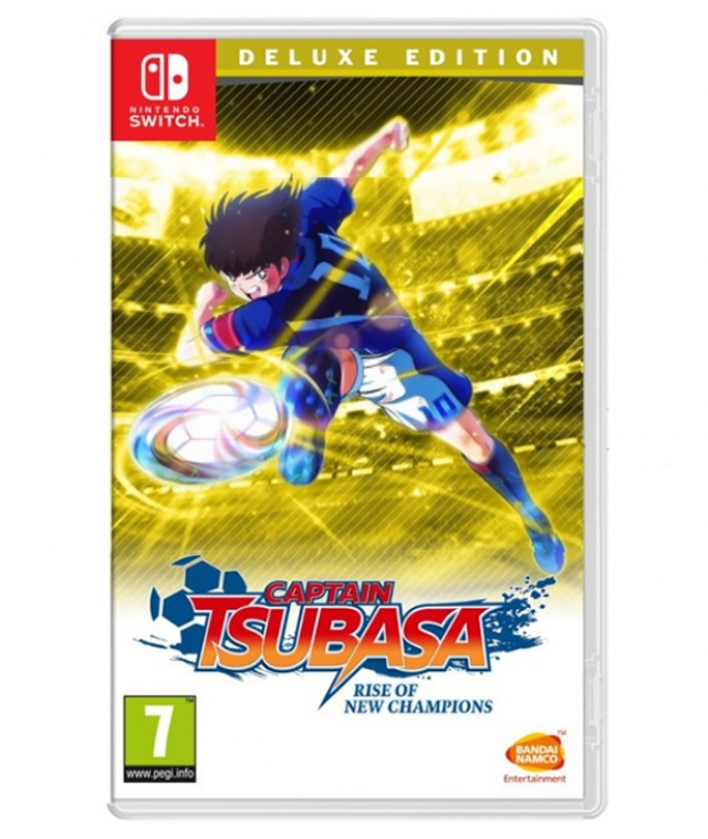 CAPTAIN TSUBASA Rise of New Champions Deluxe Edition (Oferta DLC e Pins) Switch