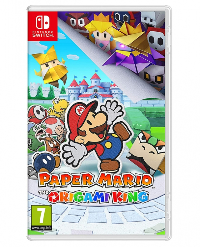 PAPER MARIO The Origami King  (Oferta Origami Set) Switch