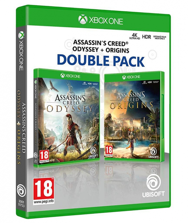 ASSASSINS CREED Pack Duplo XBOX ONE