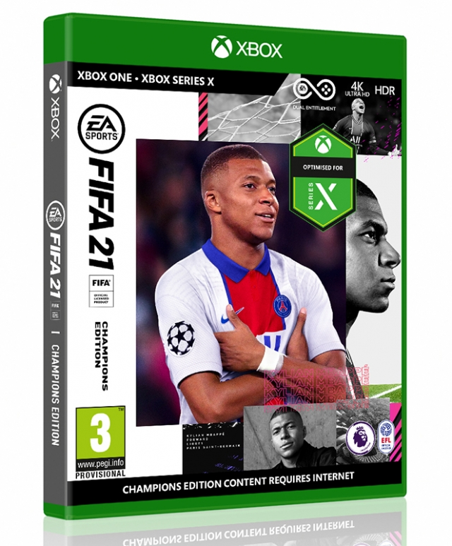 FIFA 21 Champions Edition XBOX ONE/Xbox Series X