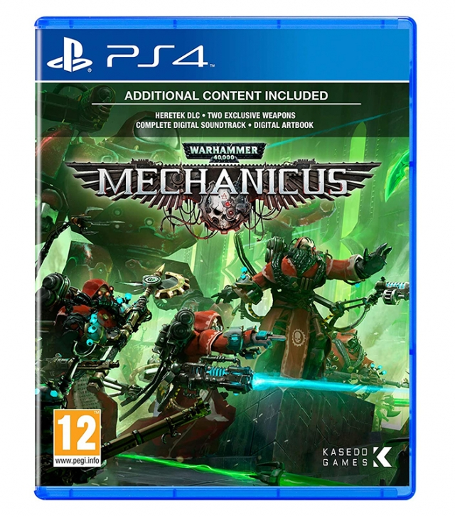 WARHAMMER 40.000 MECHANICUS PS4