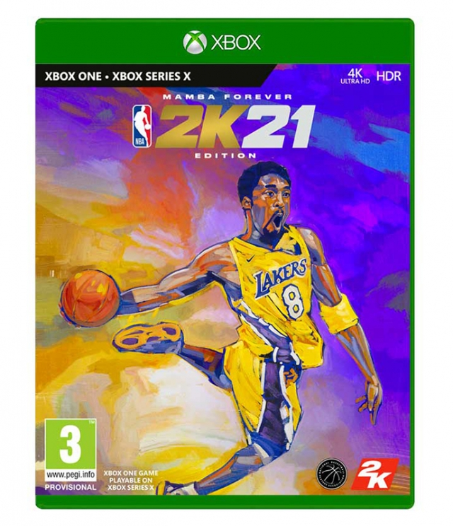 NBA 2K21 Mamba Forever Edition XBOX ONE