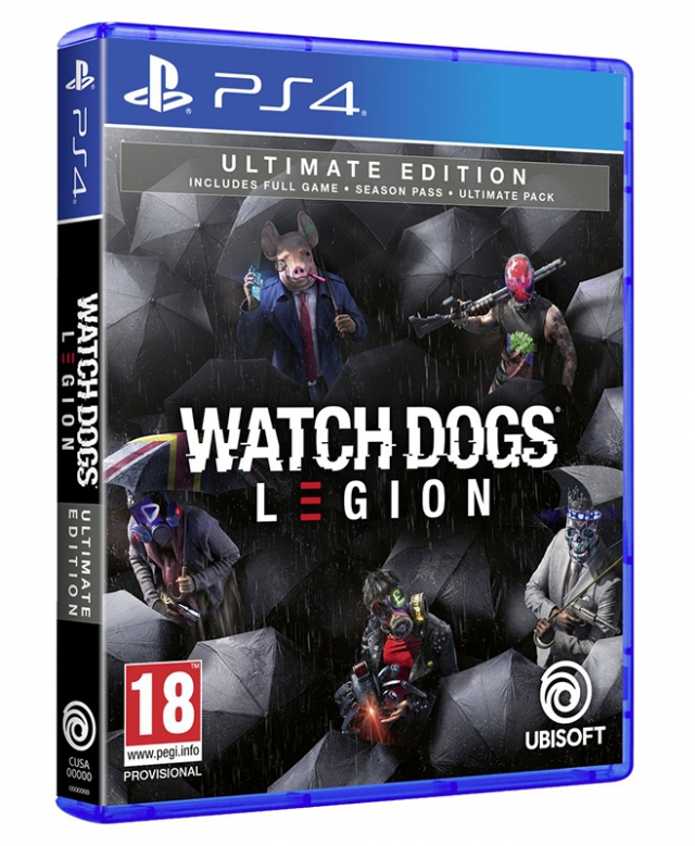 WATCH DOGS LEGION Ultimate Edition (Oferta DLC) PS4