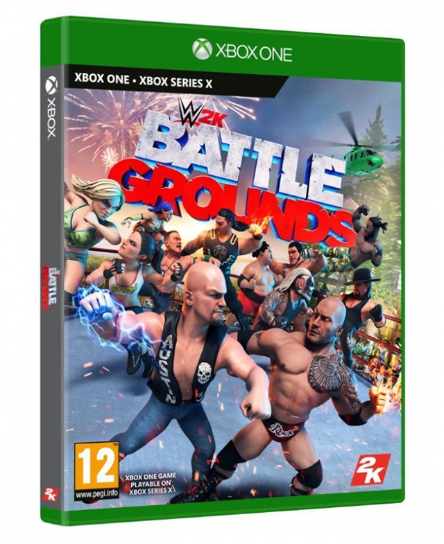 WWE 2K BATTLEGROUNDS XBOX ONE