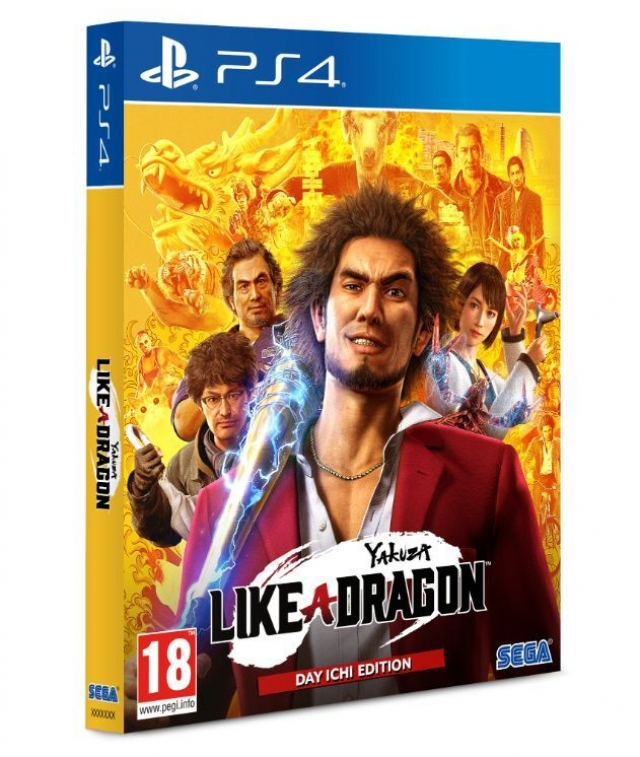 YAKUZA LIKE A DRAGON Day Ichi Steelbook Edition PS4
