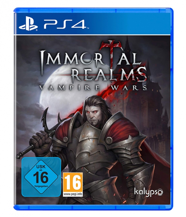 IMMORTAL REALMS - VAMPIRE WARS PS4