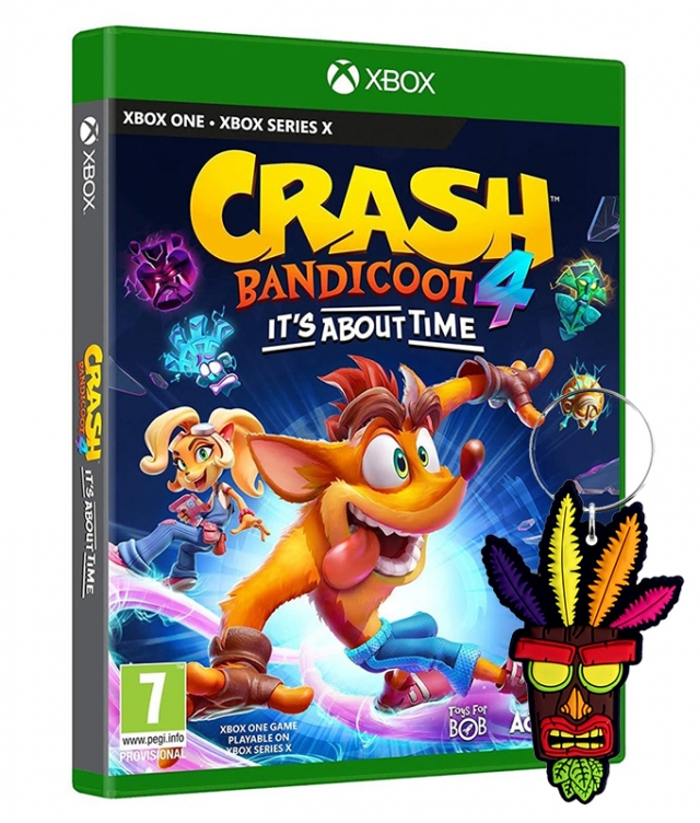 CRASH BANDICOOT 4 IT'S ABOUT TIME (Oferta Porta-Chaves) XBOX ONE
