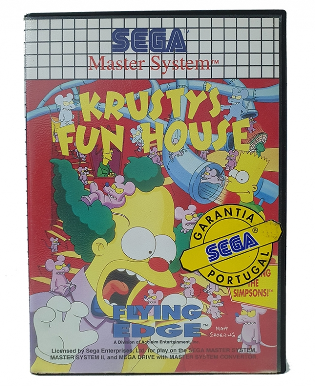 KRUSTYS FUN HOUSE Master System