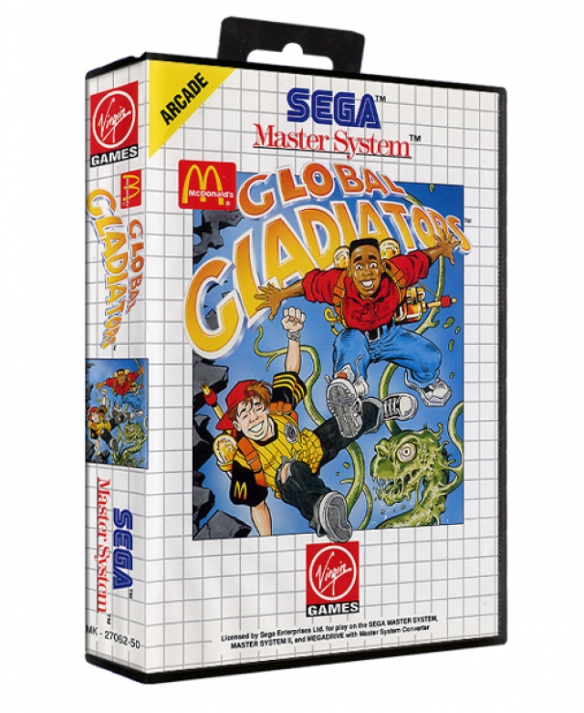 GLOBAL GLADIATORS Master System