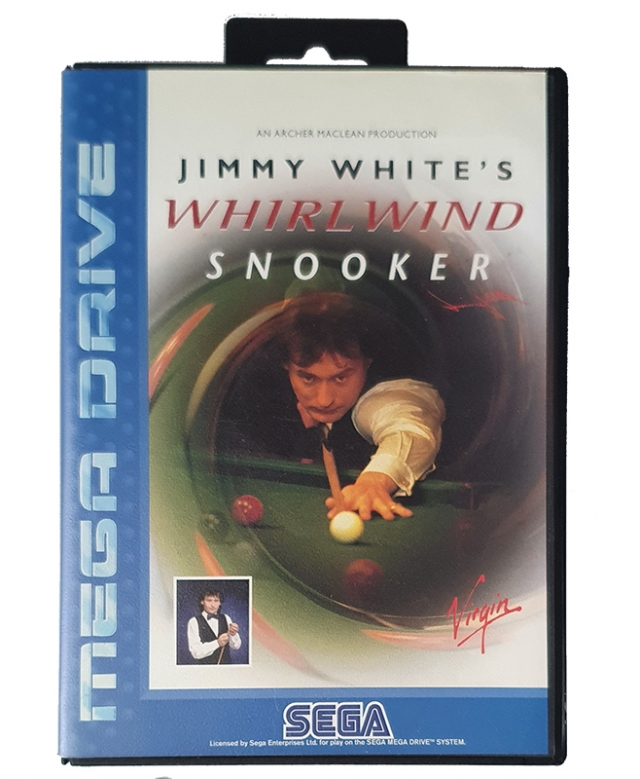 JIMMY WHITE'S WHIRLWIND SNOOKER MegaDrive