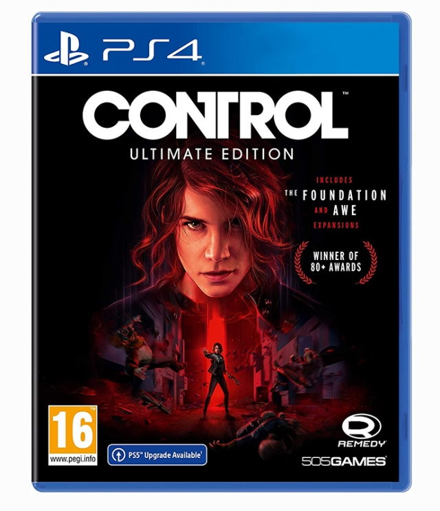 CONTROL Ultimate Edition (EM PORTUGUÊS) PS4/PS5