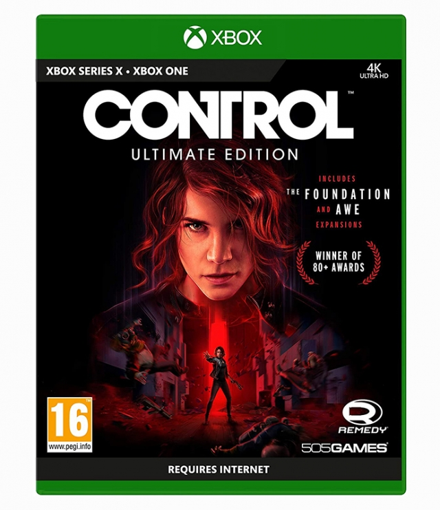 CONTROL Ultimate Edition (EM PORTUGUÊS) XBOX ONE/XBOX Series X