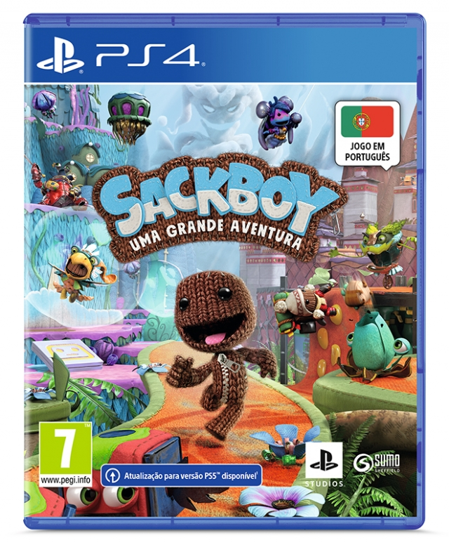 SACKBOY BIG ADVENTURE (EM PORTUGUÊS) Oferta DLC PS4/PS5