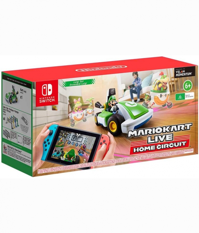MARIO KART LIVE HOME CIRCUIT Luigi Set Switch