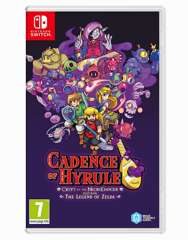 CADENCE OF HYRULE Crypt of The Necrodancer Switch