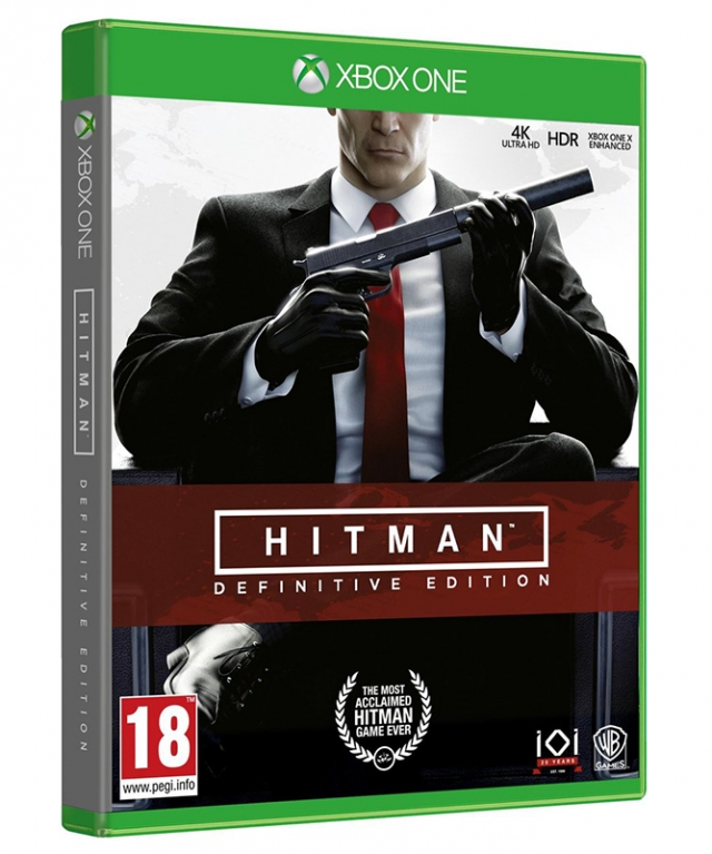 HITMAN Definitive Edition XBOX ONE