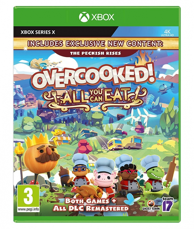 OVERCOOKED All You Can Eat XBOX ONE/XBOX Series X