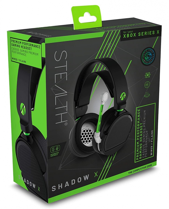 Auscultadores Gaming STEALTH Shadow X Xbox Series X