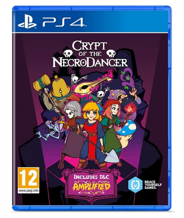 CRYPT OF THE NECRODANCER Launch Edition PS4
