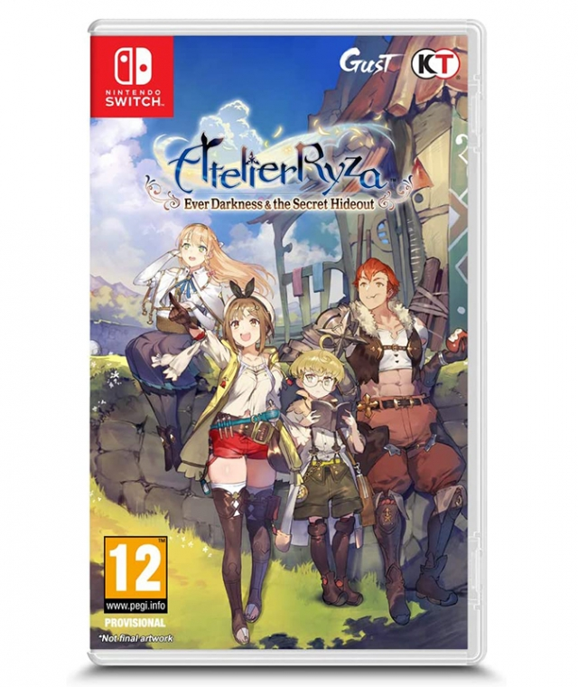 ATELIER RYZA 2 Lost Legends & The Scret Fairy Switch