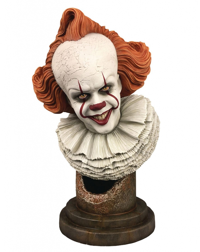 Busto IT Chapter 2 Legends: Pennywise (Escala 1:2)