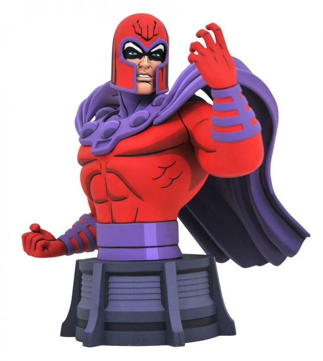 Busto MARVEL Animated Magneto