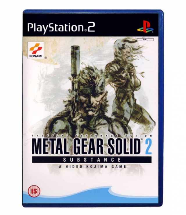 METAL GEAR SOLID 2: SUBSTANCE PS2