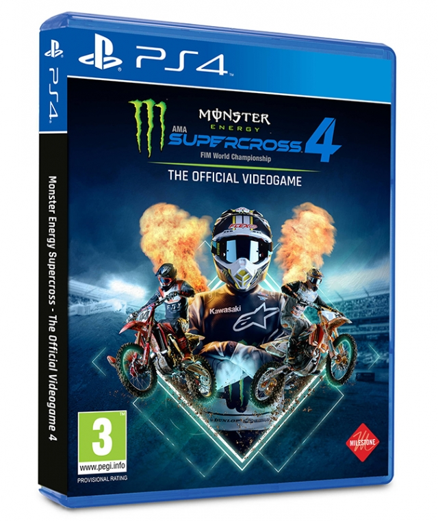 MONSTER ENERGY SUPERCROSS 4 (Oferta DLC) PS4