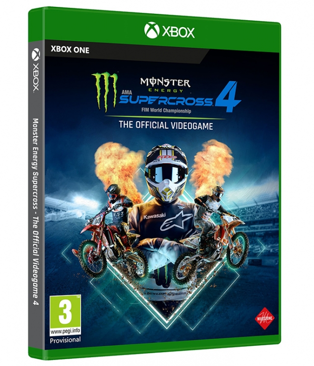 MONSTER ENERGY SUPERCROSS 4 (Oferta DLC) XBOX ONE