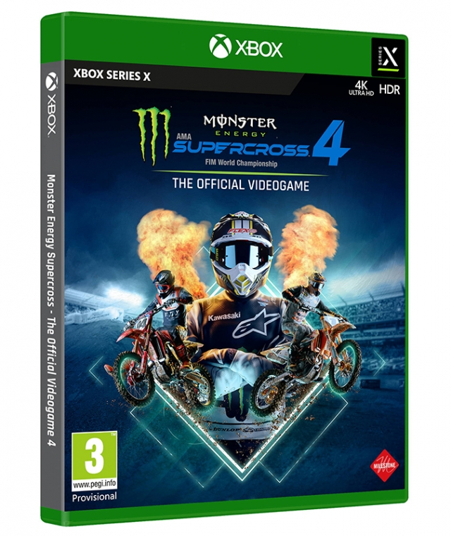 MONSTER ENERGY SUPERCROSS 4 (Oferta DLC) XBOX Series X