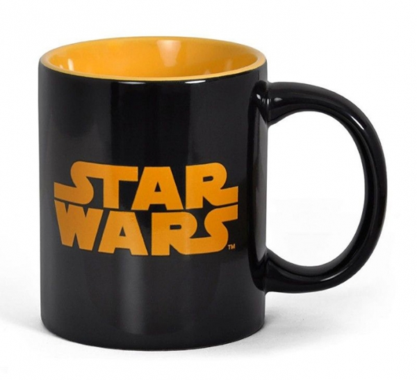 Caneca STAR WARS Orange Black Logo
