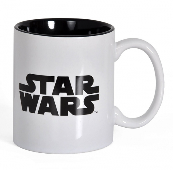 Caneca STAR WARS Black & White Logo