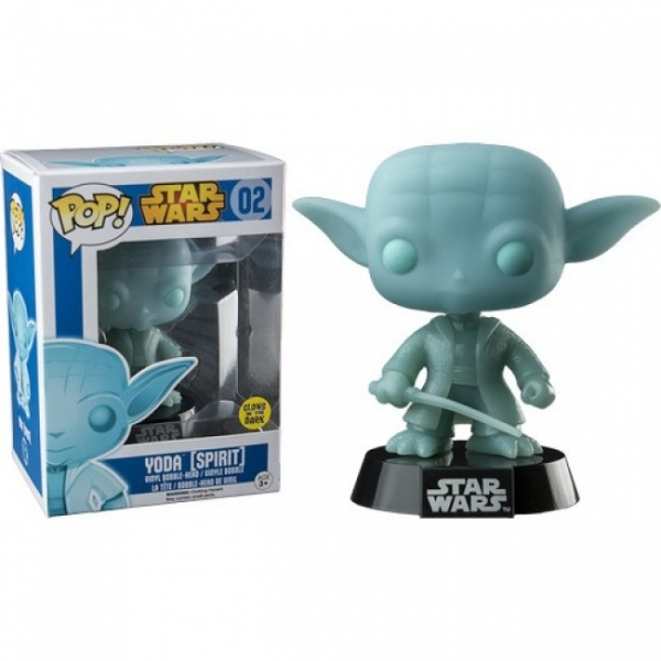 POP STAR WARS #02 Spirit Yoda (Brilha no Escuro)