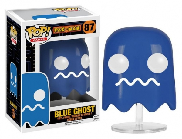 Pop PAC-MAN #87 Blue Ghost