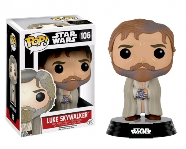POP STAR WARS #106 The Force Awakens Bearded Luke Skywalker